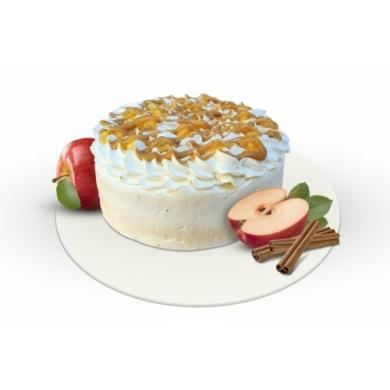 Proteines almás fahéjas torta
