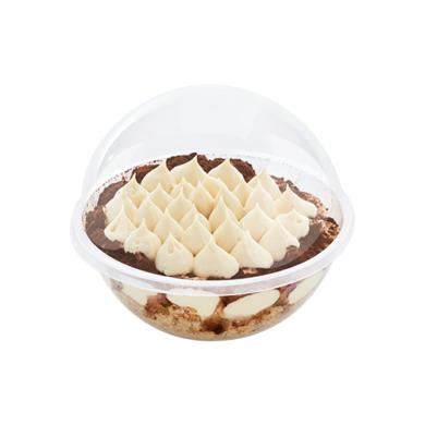 Proteines cukormentes Tiramisu gömb torta