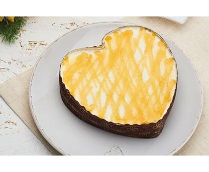Mini Rákóczi túrós torta - szív alakú