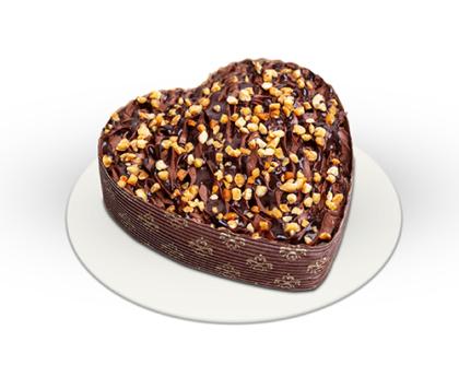 Mini Csokitorta - szív alakú